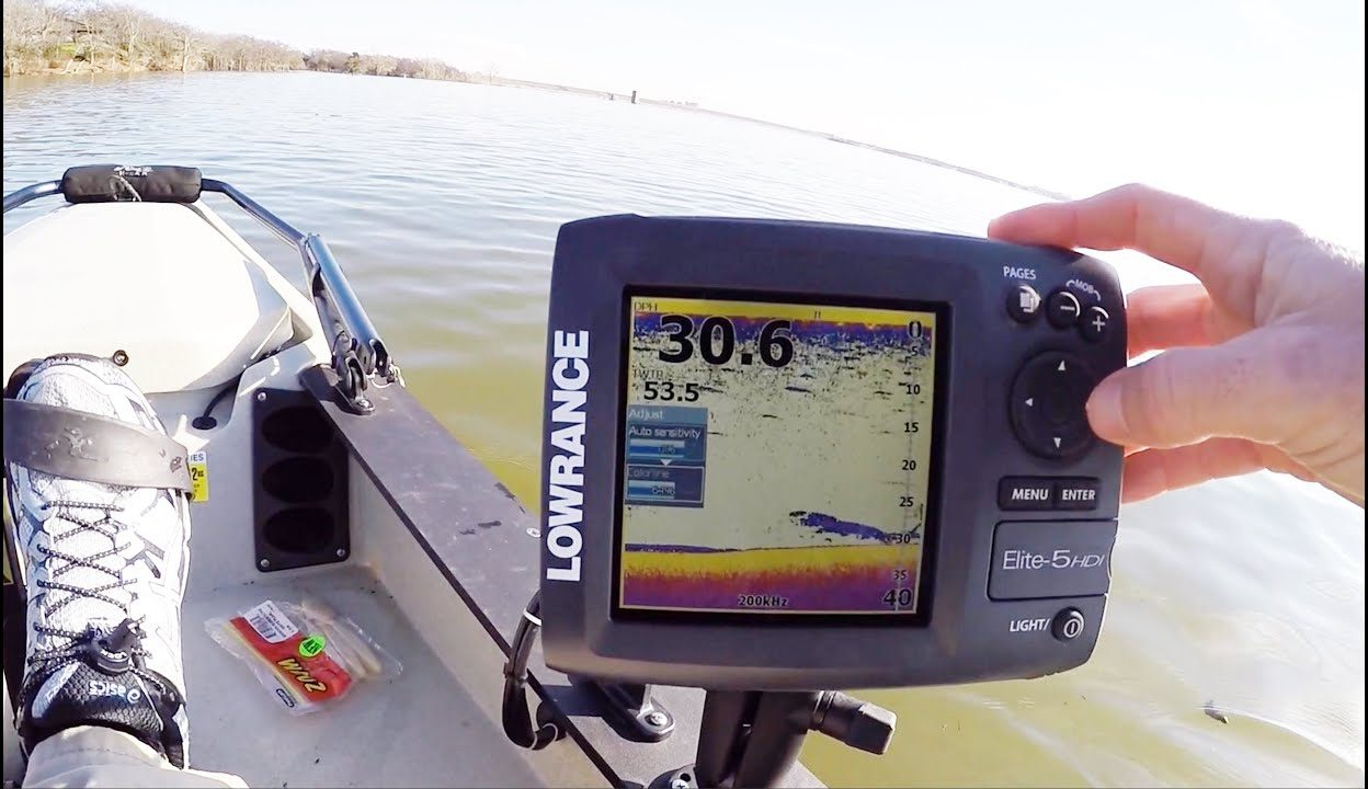 portable fish finder walmart